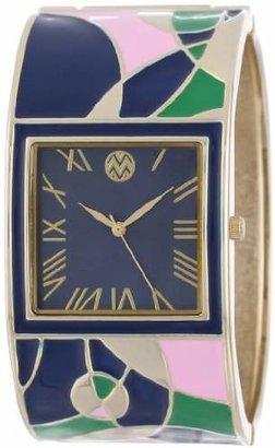 Macbeth Women's MBW041 Multi-Colored Bangle Watch