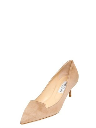 Jimmy Choo 35mm Allure Suede Pointed Pumps
