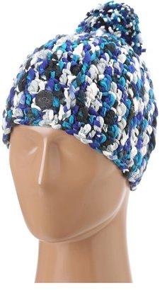 Roxy Swirl Beanie (Caribbean Sea) - Hats