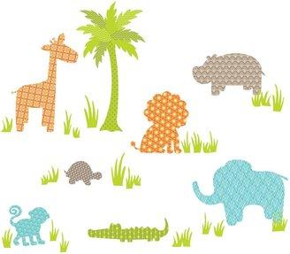 Bed Bath & Beyond WallPops!® Jungle Friends Wall Art Kit