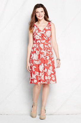 Lands' End Women's Fit and Flare Dress