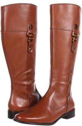 Anne Klein 7Carloe (Cognac/Medium Brown Leather) - Footwear