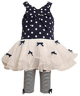 Bonnie Jean Toddler Tutu Dress & Leggings Set