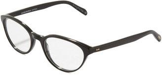 Oliver Peoples Lilla Cat-Eye Fashion Glasses, Black