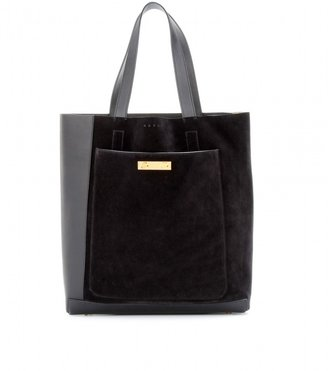Marni Leather and suede shopper