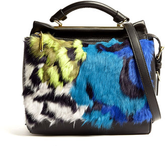 3.1 Phillip Lim Fur Small Ryder Satchel