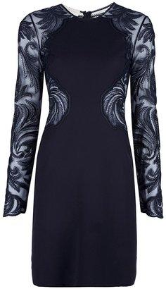 Stella McCartney lace panel dress
