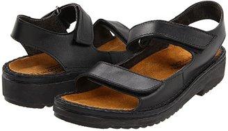 Naot Footwear Karenna (Black Matte Leather) Women's Sandals