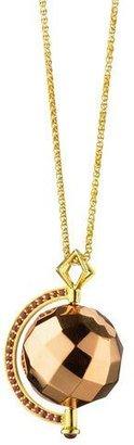Monica Rich Kosann Passion Rose Gold Mars Ruby Pendant Necklace