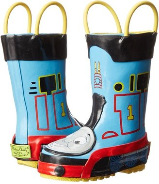Western Chief Thomas The Train Rainboot (Infant/Toddler/Youth) (Blue/Thomas The Train) - Footwear