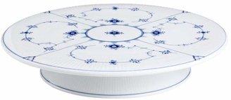Royal Copenhagen Blue Fluted Plain Cake Platter