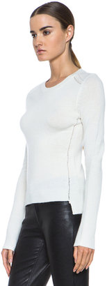 Inhabit Cashmere Pullover in Ivory