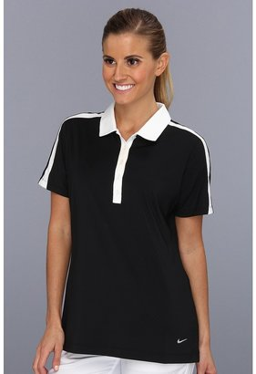 Nike Emboss Dotted Polo (Black/White) - Apparel