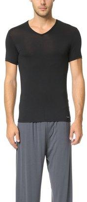 Calvin Klein Underwear Body Modal V Neck T-Shirt $34 thestylecure.com