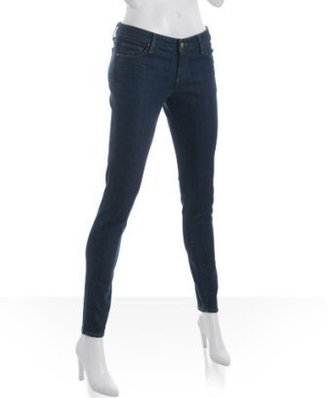 Raven bright dark blue 'Remy' skinny stretch jeans