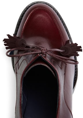 Brooks Brothers Lace Up Oxford Bootie