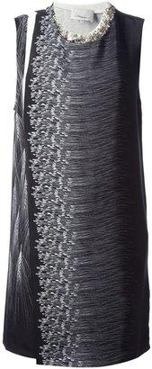 3.1 Phillip Lim wheat print sleeveless dress