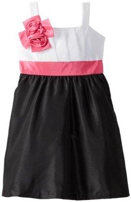 Rare Editions Big Girls' Shantung Dress