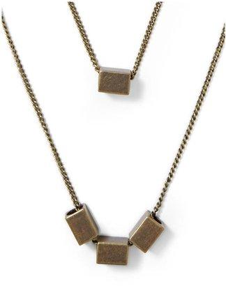 Juicy Couture Hive & Honey Double Layer Pendant Necklace