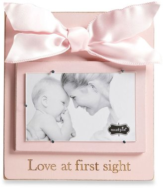 """Mud Pie Love at First Sight"""" Wood Photo Frame in Blush"""