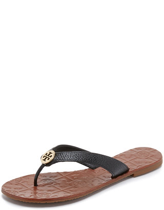 Tory Burch Thora Flat Thong Sandal $125 thestylecure.com