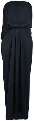 Lanvin draped maxi dress