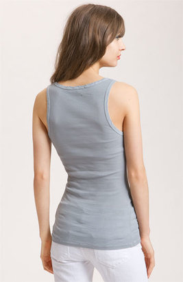 James Perse Women's Fitted V-Neck Tank