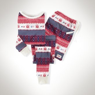 Cotton Fair Isle Pajama Set