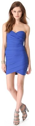 BCBGMAXAZRIA Strapless Mini Dress