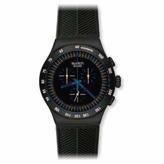 Swatch Men's YOB103 Stainless Steel Dial Chronograph Watch