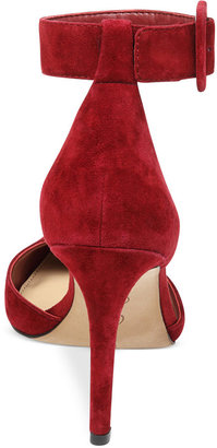Jessica Simpson Cayna Ankle Strap Pumps