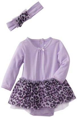 Vitamins Baby Girls Newborn 2 Piece Dress Set