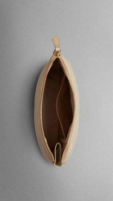 Burberry The Beauty Petal in Embossed Check Leather