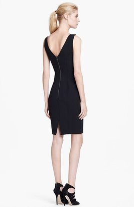 Tracy Reese Rose Detail Sheath Dress