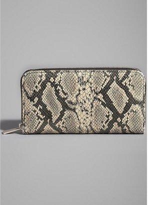 GUESS by Marciano Kaylan Snake-Print Zip Around Wallet