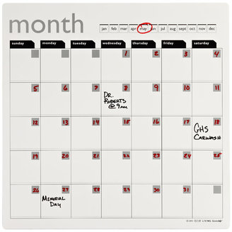 Container Store Magnetic Refrigerator Calendar