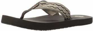 Reef Mens Sandals Smoothy | Classic Woven Strap Flip Flops for Men With Soft Cushion Footbed | Waterproof