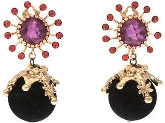 Christian Lacroix Vintage Sunburst earring