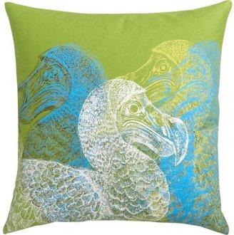 """CB2 Dodo bird 20"""" pillow"""