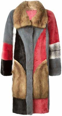 Liska reversible fur coat