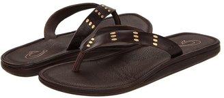 OluKai Kui W (Dark Java/Dark Java) - Footwear