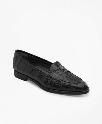 Brooks Brothers Alligator Loafers