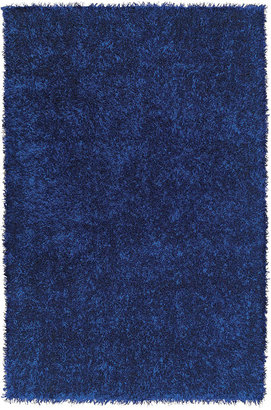 Dalyn Area Rug, Metallics Brights Shag Cobalt 8' x 10'