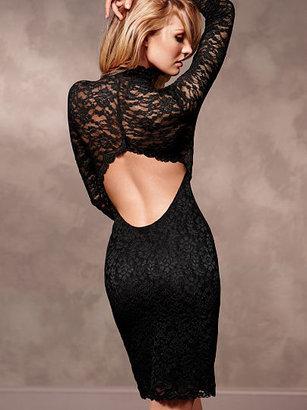 Victoria's Secret Open-Back Lace Dress