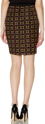 The Limited Outback Red® Circle Print Pencil Skirt