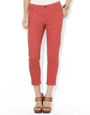 Lauren Ralph Lauren Petite Slimming Cropped Straight Jean