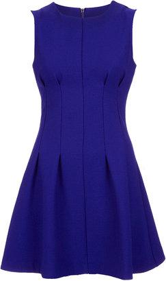 Topshop Seam Waist Shift Dress