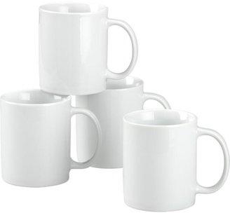 Crate & Barrel Set of 4 Mugs
