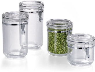Container Store Hermetic Acrylic Canisters