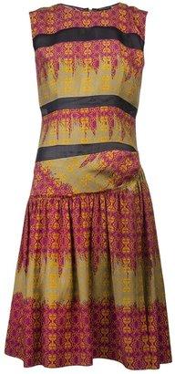 Sophie Theallet Arabesque print dress